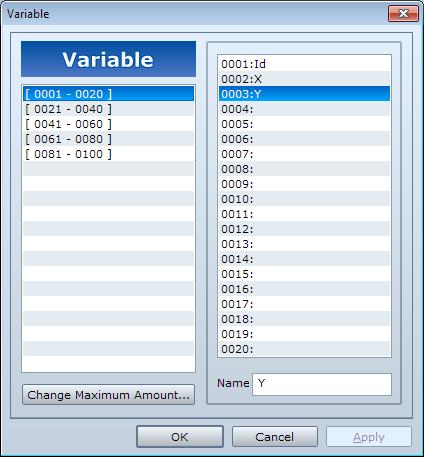 Gestion des  fonds de combat par événement Variable2