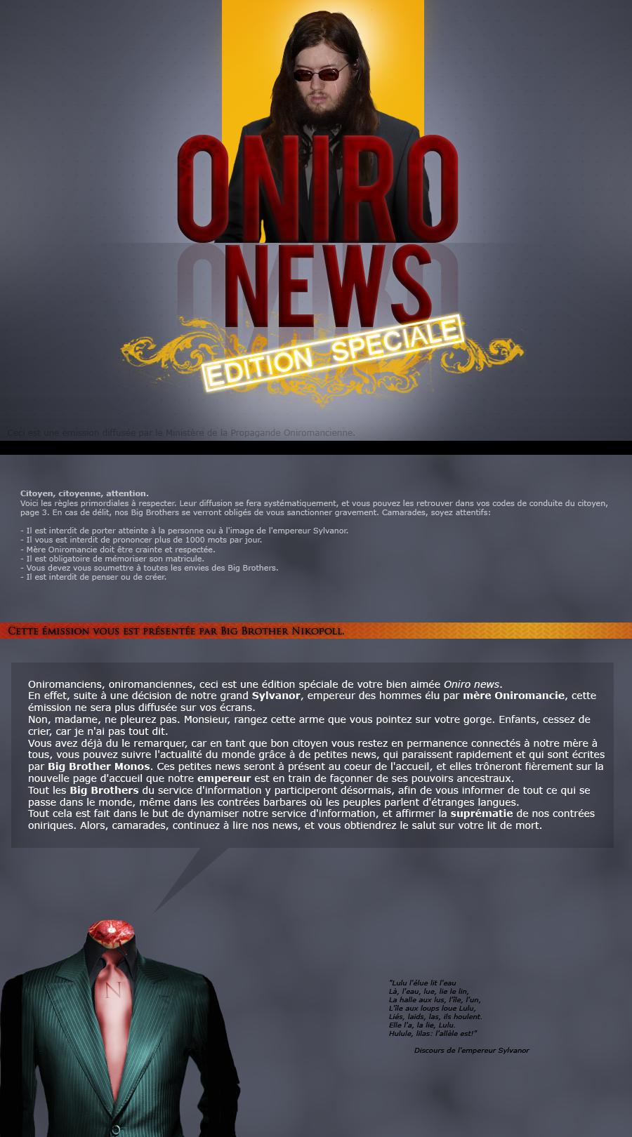 Oniro news: édition spéciale