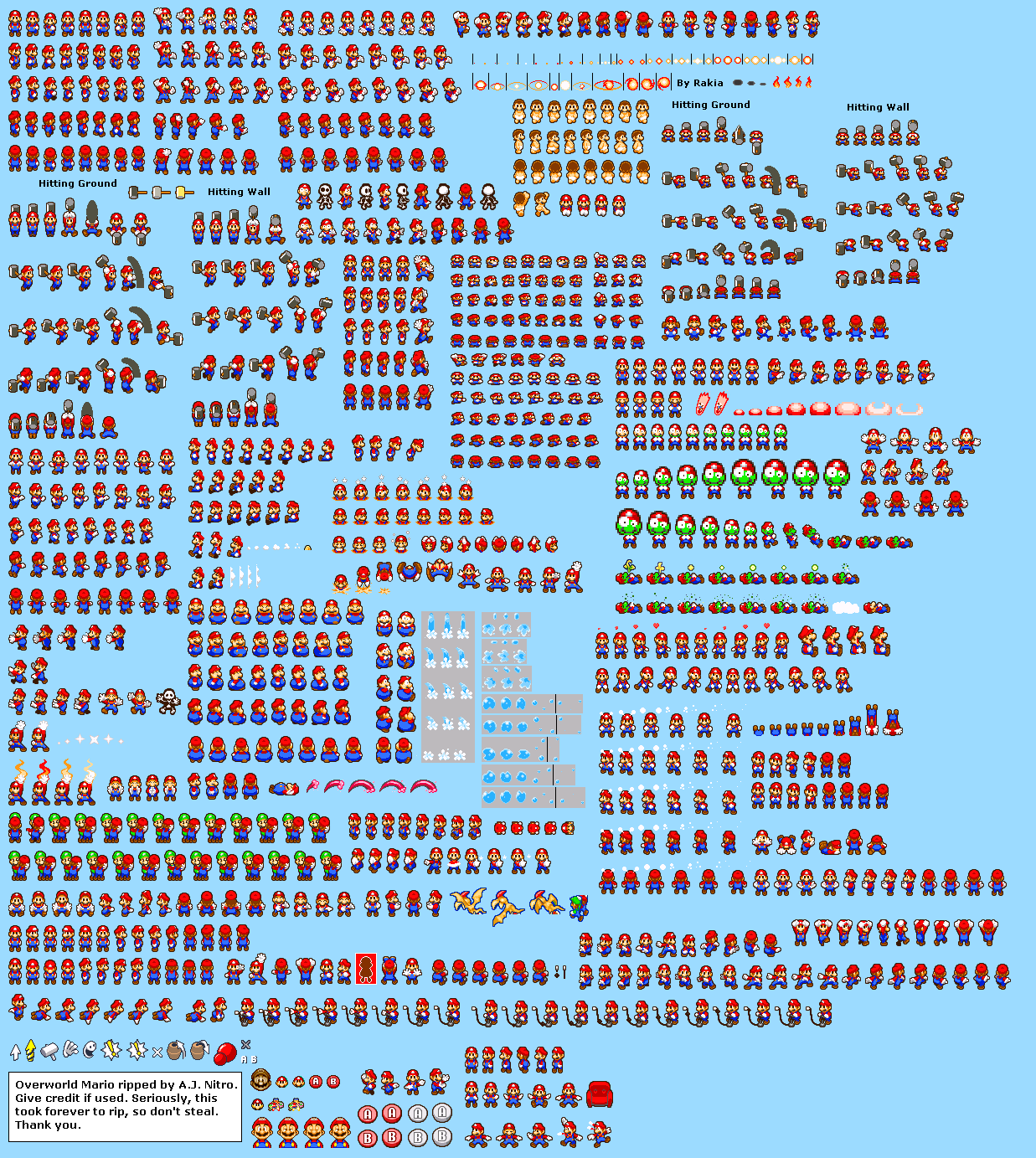 Background Sprite Sheets http://laurentlazard.com/media/Mario-Background-Sprite.html